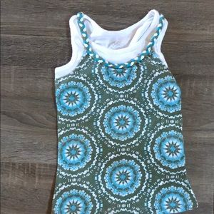 Justice tank top Girl's size 8